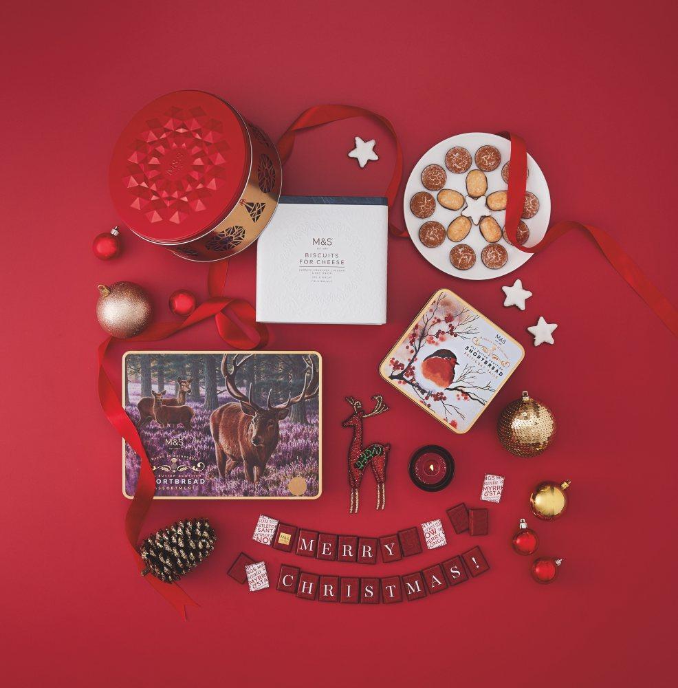 MarksSpencer Christmas gift guide Sweet Treats - Exciting Christmas Gifts from Marks&Spencer