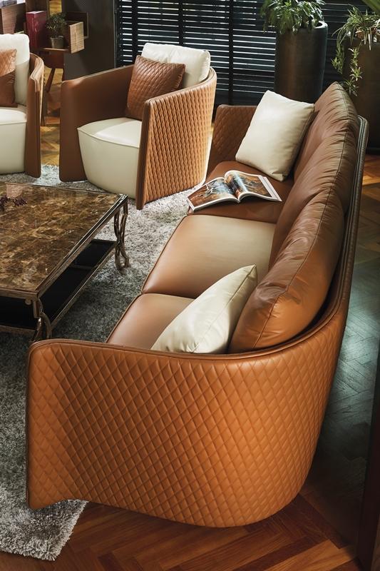 TEKNI Luxe Sofa Armchair - Tekni Furniture 打造完美舒适家居环境