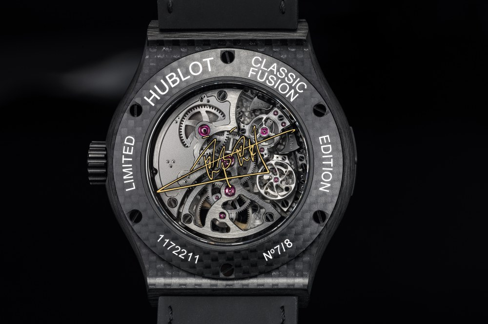 classic fusion tourbillon cathedral minute repeater carbon lang lang 2 - Hublot and Lang Lang Collaboration on Innovative Watches