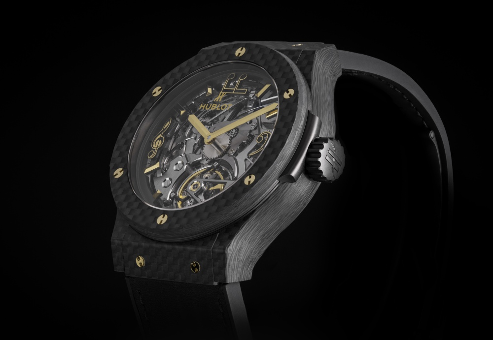 classic fusion tourbillon cathedral minute repeater carbon lang lang 3 - Hublot and Lang Lang Collaboration on Innovative Watches