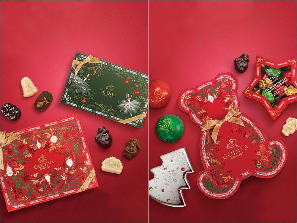 godiva holiday collection 2016 cover - 在巧克力的国度中,度过美妙圣诞佳节