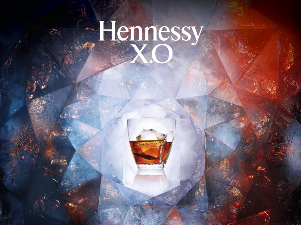 hennessy XO MASTER ICE BIG - Hennessy X.O & Ice Frozen Feel Sublimates the Essence of Cognac