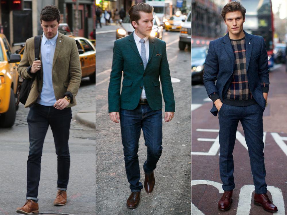 men style Coat Blazer Jacket blazer 1 - 外套造型添层次,时髦儒雅一次打造!