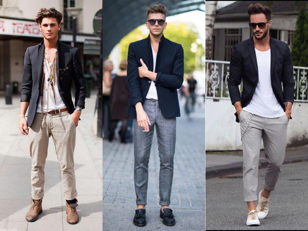 men style Coat Blazer Jacket casual 1 - 外套造型添层次,时髦儒雅一次打造!