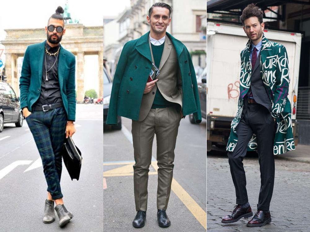 men style Coat Blazer Jacket chic 1 - 外套造型添层次,时髦儒雅一次打造!