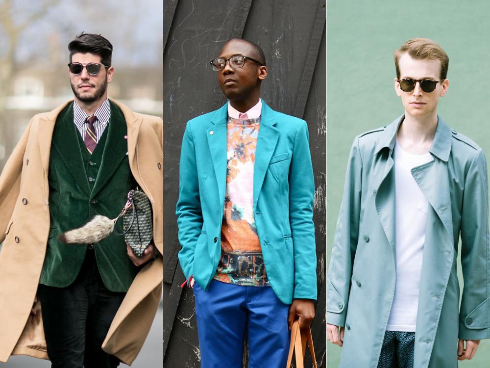 men style Coat Blazer Jacket chic 2 - 外套造型添层次,时髦儒雅一次打造!
