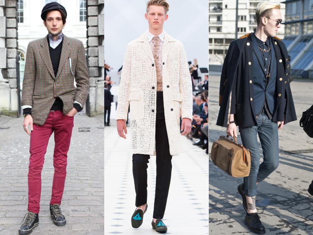 men style Coat Blazer Jacket chic 3 - 外套造型添层次,时髦儒雅一次打造!