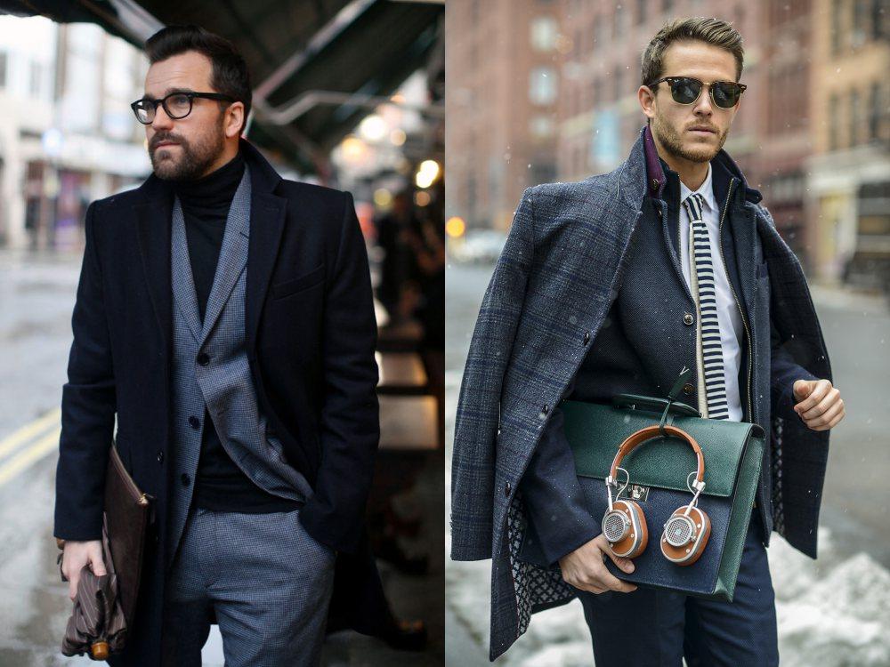 men style Coat Blazer Jacket layering 2 - 外套造型添层次,时髦儒雅一次打造!