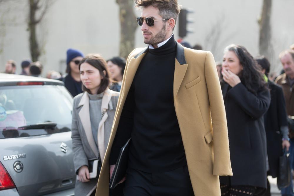 men style Coat Blazer Jacket layering 3 - 外套造型添层次,时髦儒雅一次打造!