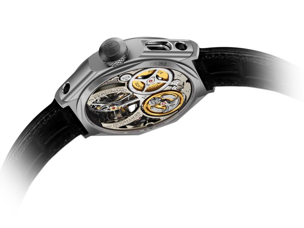 Chronomatre Ferdinand Berthoud FB 1R 6 1 back 2 - 从这枚腕表认识Ferdinand Berthoud!
