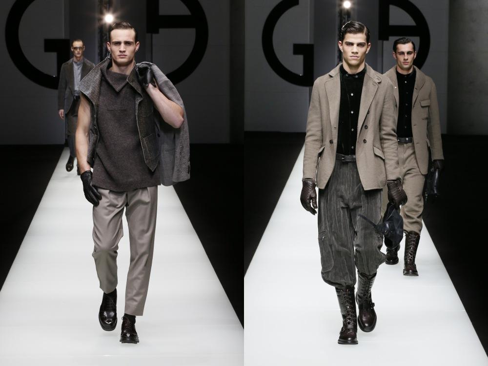 Giorgio Armani Menswear Fall Winter 2018 24 - Giorgio Armani 秋冬'18 释放对生活的热情!