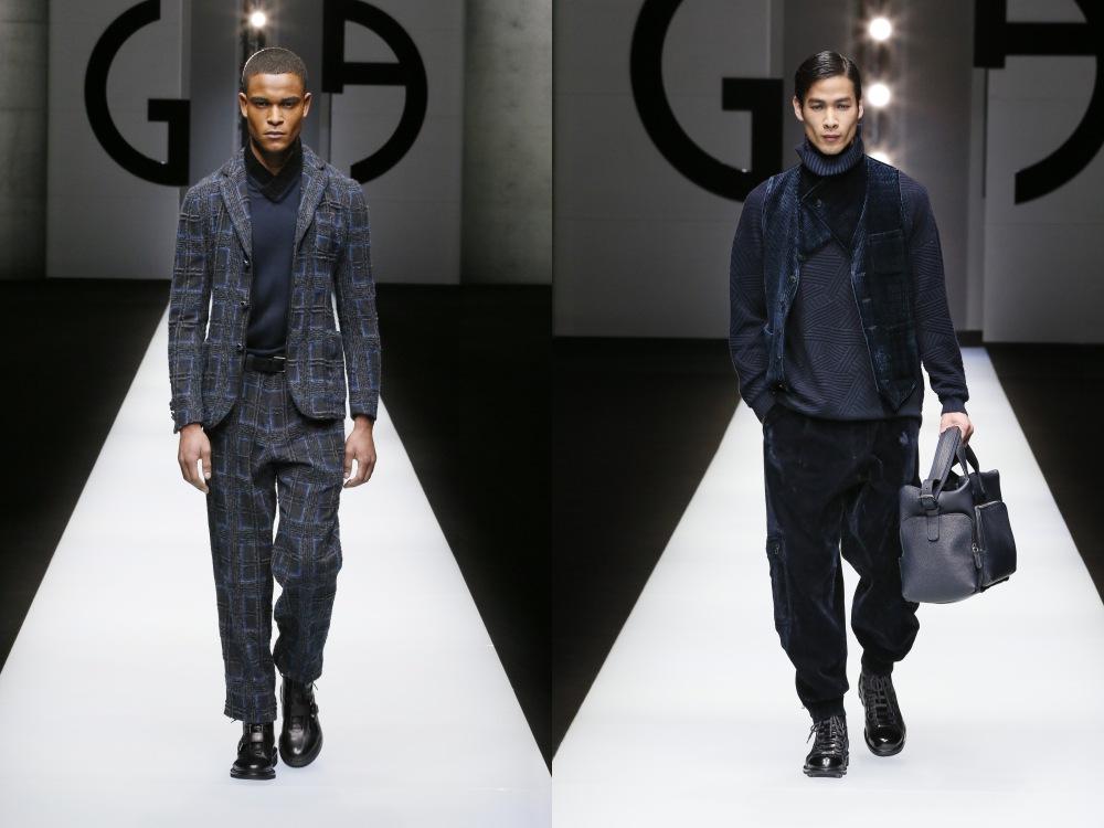 Giorgio Armani Menswear Fall Winter 2018 28 - Giorgio Armani 秋冬'18 释放对生活的热情!