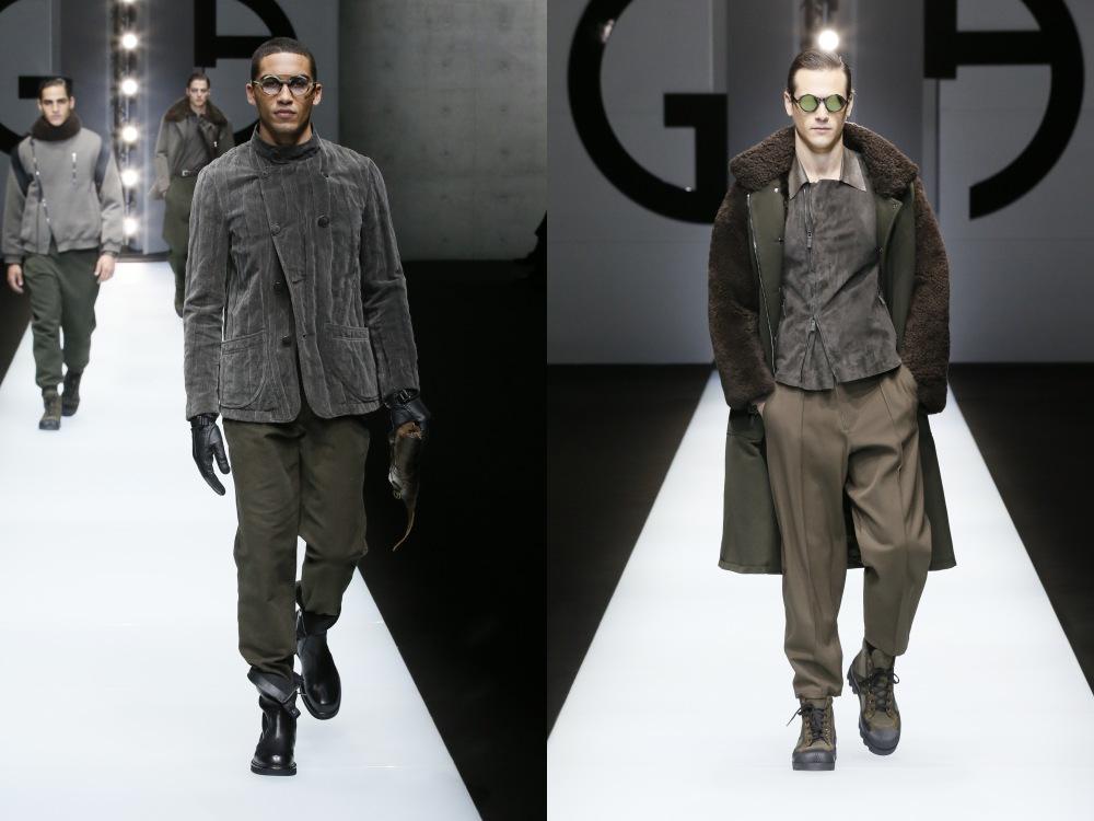 Giorgio Armani Menswear Fall Winter 2018 31 - Giorgio Armani 秋冬'18 释放对生活的热情!
