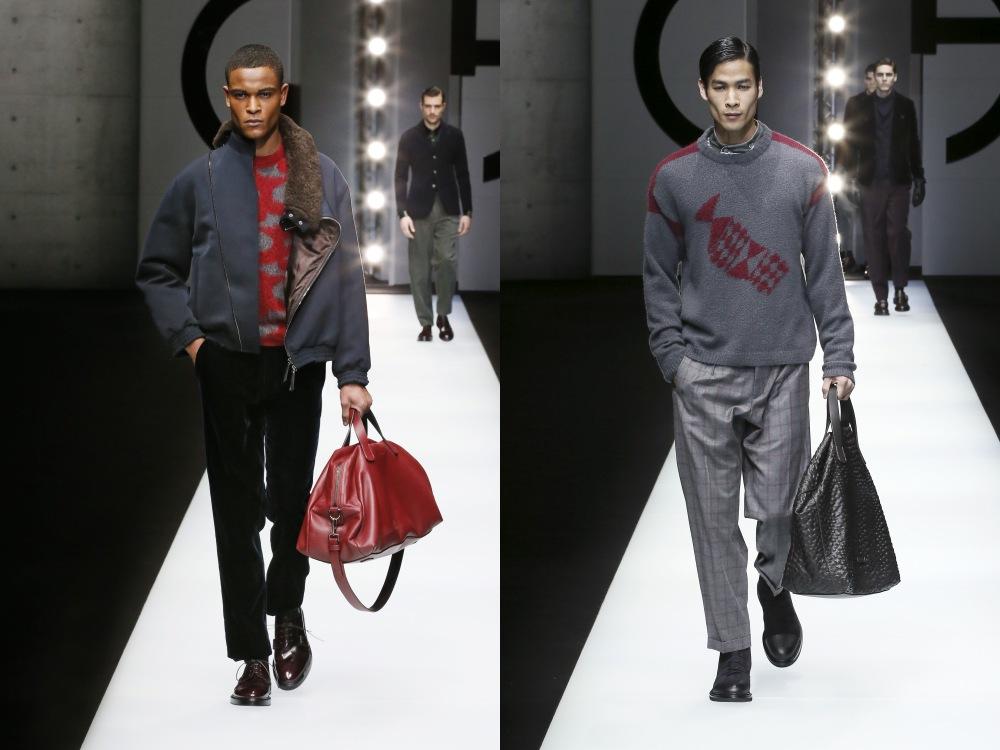 Giorgio Armani Menswear Fall Winter 2018 32 - Giorgio Armani 秋冬'18 释放对生活的热情!