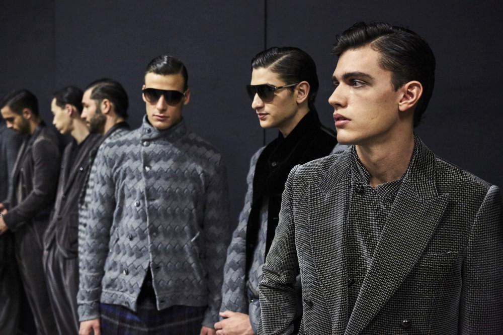 Giorgio Armani Menswear Fall Winter 2018 6 - Giorgio Armani 秋冬'18 释放对生活的热情!