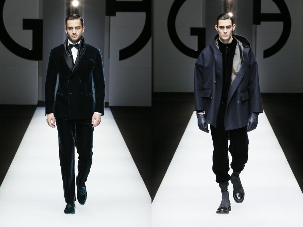 Giorgio Armani Menswear Fall Winter 2018 BIG  - Giorgio Armani 秋冬'18 释放对生活的热情!