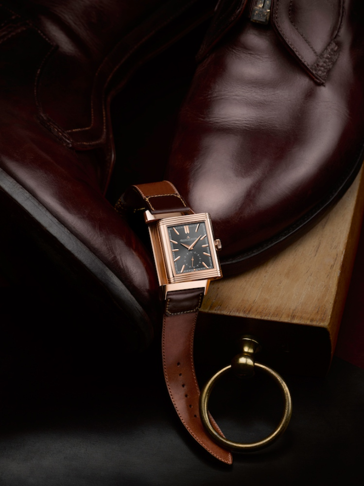 Jaeger LeCoultre Reverso Tribute Duoface Limited Edition casa fagliano 1 - JLC Reverso Tribute Duo 奢雅皮革双魅力!