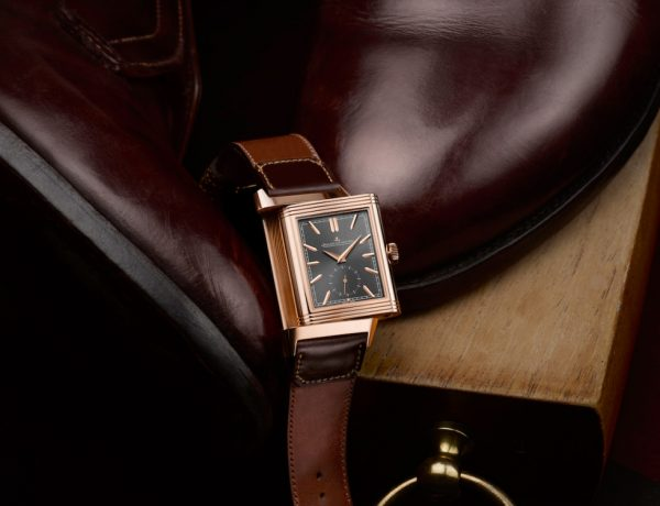 Jaeger LeCoultre Reverso Tribute Duoface Limited Edition casa fagliano BIG 600x460 - JLC Reverso Tribute Duo 奢雅皮革双魅力!