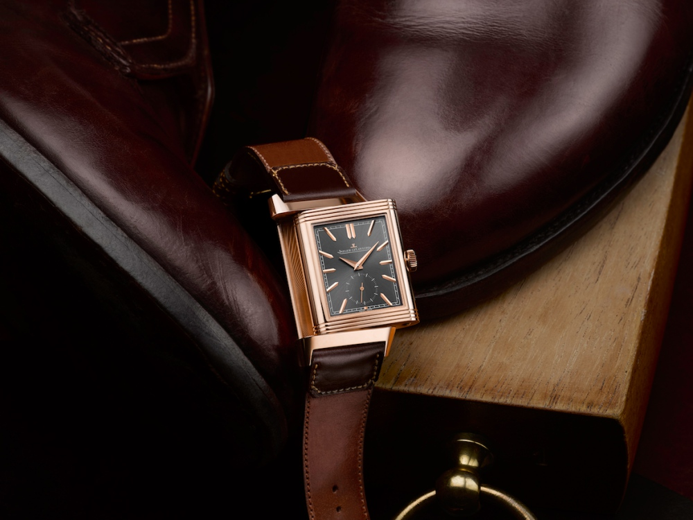 Jaeger LeCoultre Reverso Tribute Duoface Limited Edition casa fagliano BIG - JLC Reverso Tribute Duo 奢雅皮革双魅力!