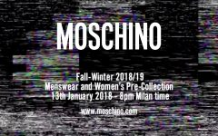 Moschino FW18 Menswear Womens pre collection 240x150 - 同步看 Moschino 秋冬2018时尚秀!