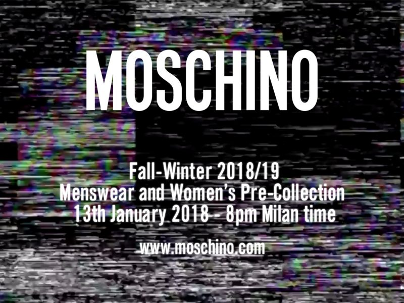 Moschino FW18 Menswear Womens pre collection 800x600 - Home