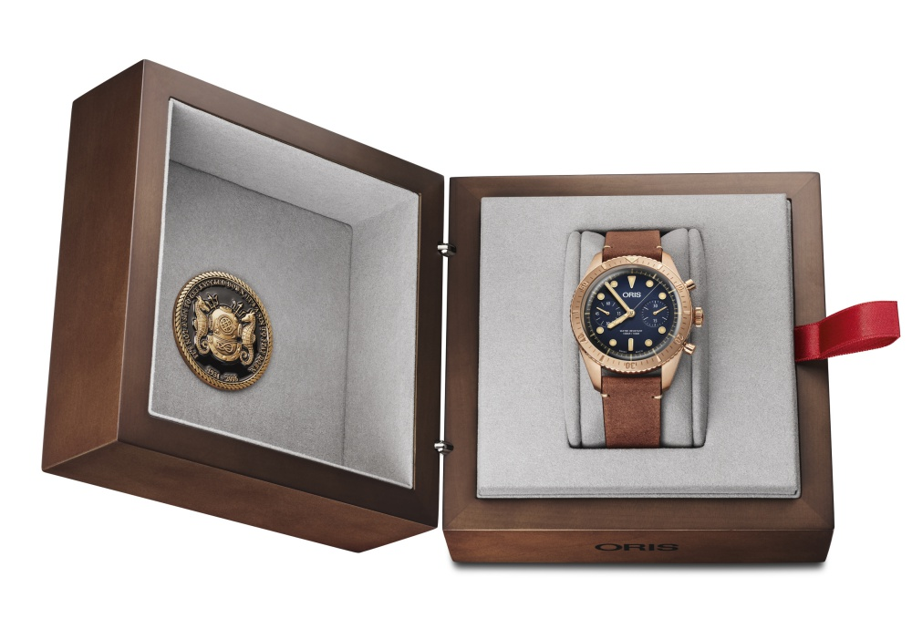 Oris Carl Brashear Chronograph Limited Edition watch 2 - Oris Carl Brashear 纪念传奇海军的励志故事!