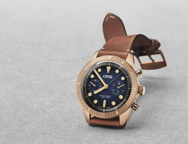 Oris Carl Brashear Chronograph Limited Edition watch 2018  600x460 - Oris Carl Brashear, a tribute to an inspirational legend