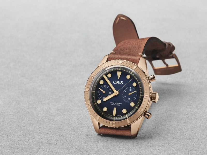 Oris Carl Brashear Chronograph Limited Edition watch 2018  800x600 - Home