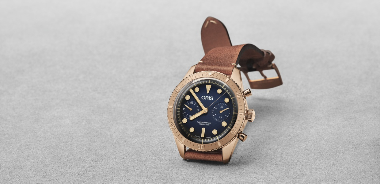 Oris Carl Brashear Chronograph Limited Edition watch 2018  - Oris Carl Brashear 纪念传奇海军的励志故事!