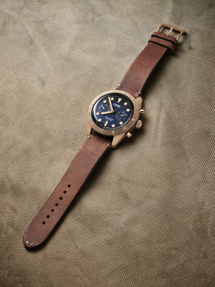 Oris Carl Brashear Chronograph Limited Edition watch 4 - Oris Carl Brashear 纪念传奇海军的励志故事!