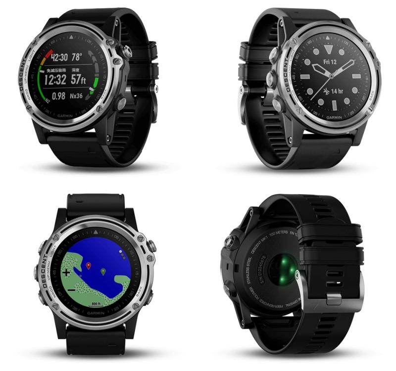 ces 2018 las vegas Garmin Descent MK1 watch  - CES 2018 引领科技生活大跃进!