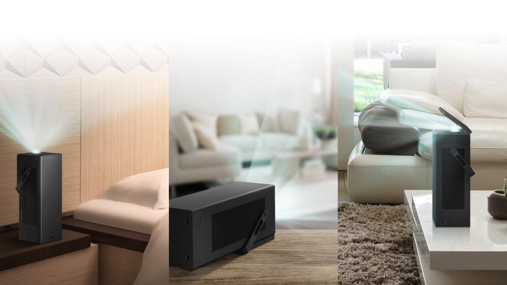 ces 2018 las vegas LG 4K UHD Projector  - CES 2018 引领科技生活大跃进!