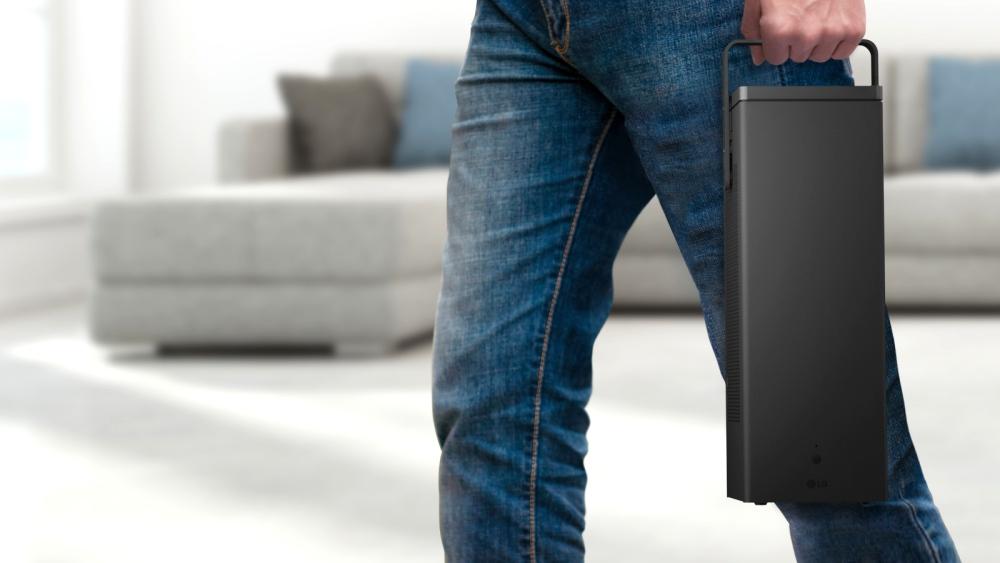 ces 2018 las vegas LG 4K UHD Projector 2 - CES 2018 引领科技生活大跃进!