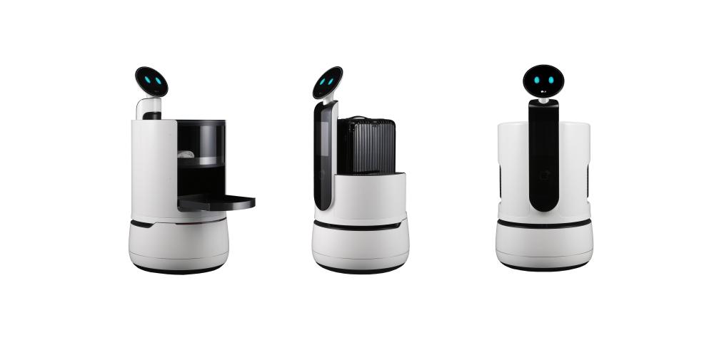 ces 2018 las vegas LG Concept Robots  - CES 2018 引领科技生活大跃进!