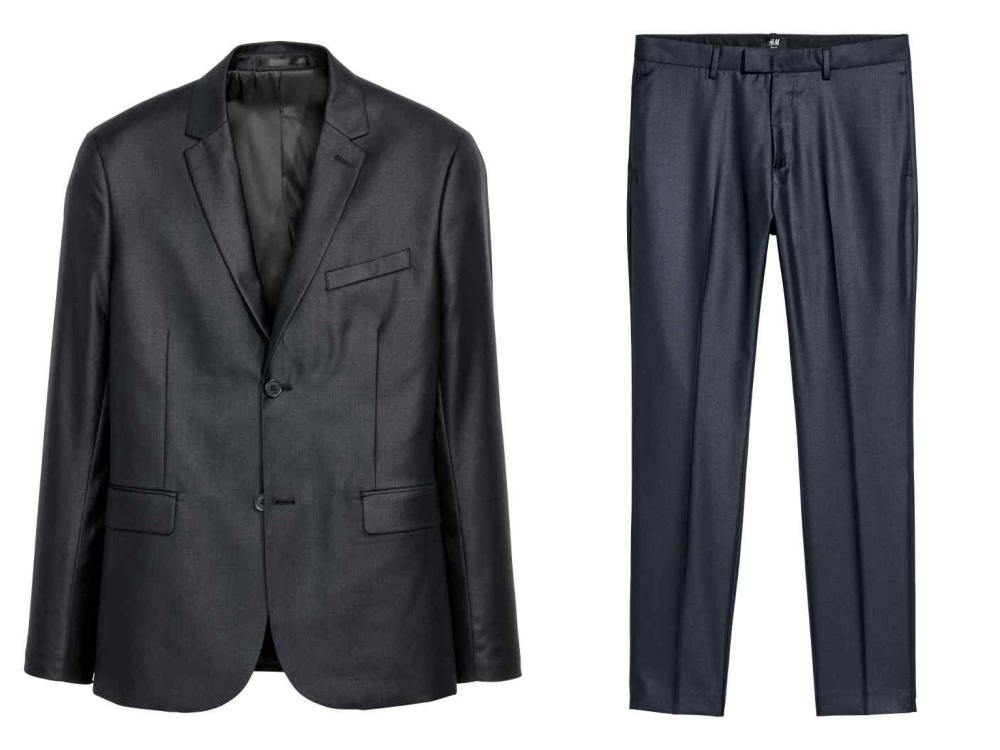 hm fashion suit men style 1 - 黑色西装之外,你也能轻松驾驭的简雅素色!