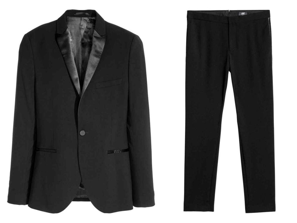 hm fashion suit men style 3 - 黑色西装之外,你也能轻松驾驭的简雅素色!