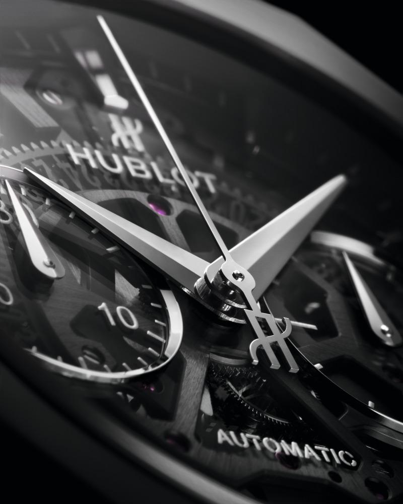 "hublot Classic Fusion Richard Orlinski new watch 2 - Hublot x Richard Orlinski ""表""现3D切割艺术美学"