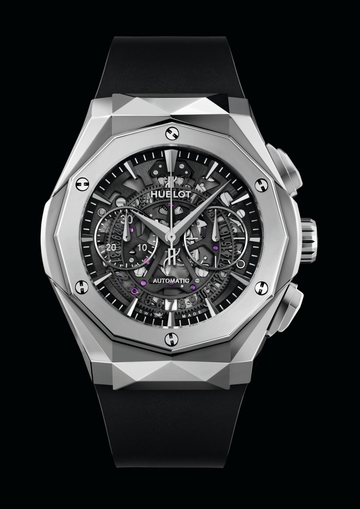 "hublot Classic Fusion Richard Orlinski new watch 4 - Hublot x Richard Orlinski ""表""现3D切割艺术美学"