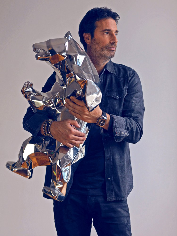 "hublot Classic Fusion Richard Orlinski new watch 5 - Hublot x Richard Orlinski ""表""现3D切割艺术美学"
