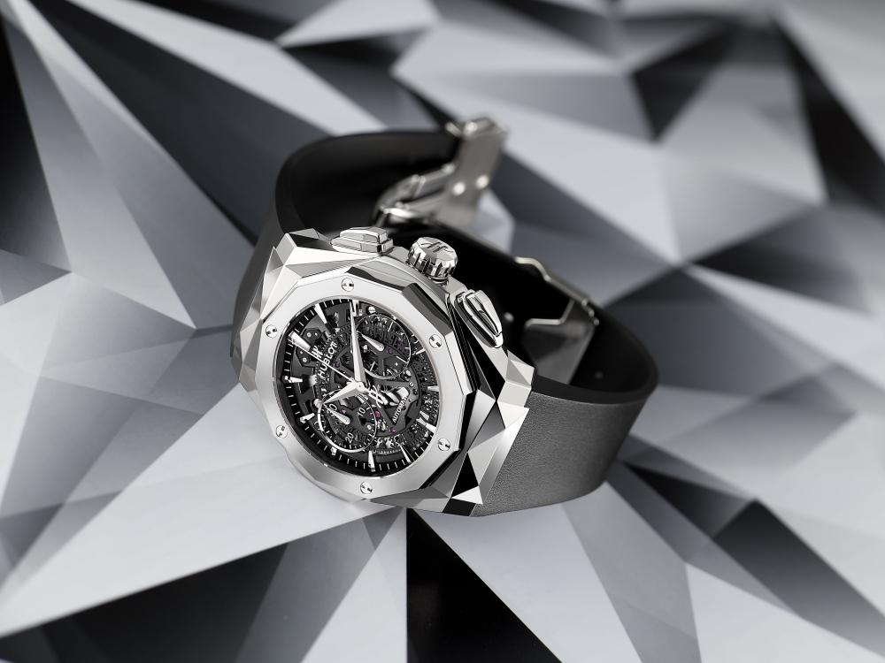 "hublot Classic Fusion Richard Orlinski new watch BIG - Hublot x Richard Orlinski ""表""现3D切割艺术美学"