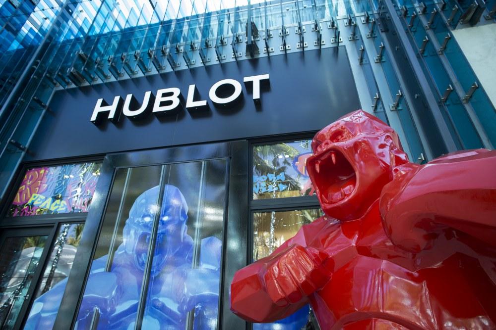 "hublot Classic Fusion Richard Orlinski new watch hublot design district boutique  - Hublot x Richard Orlinski ""表""现3D切割艺术美学"