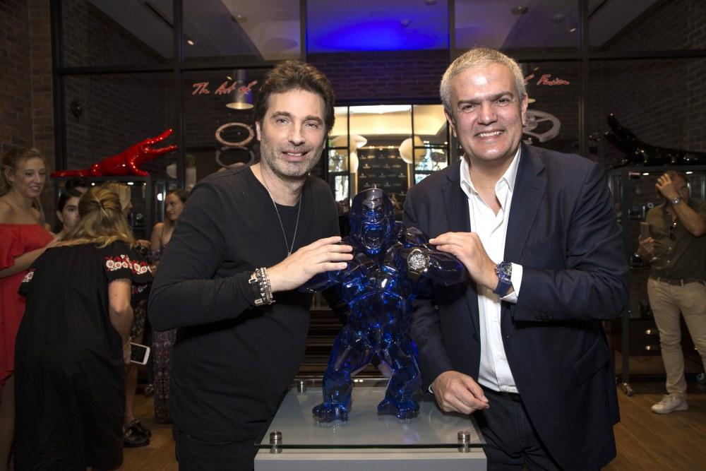 "hublot Classic Fusion Richard Orlinski new watch launch 3 - Hublot x Richard Orlinski ""表""现3D切割艺术美学"