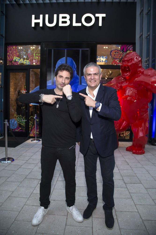 "hublot Classic Fusion Richard Orlinski new watch launch 4 - Hublot x Richard Orlinski ""表""现3D切割艺术美学"