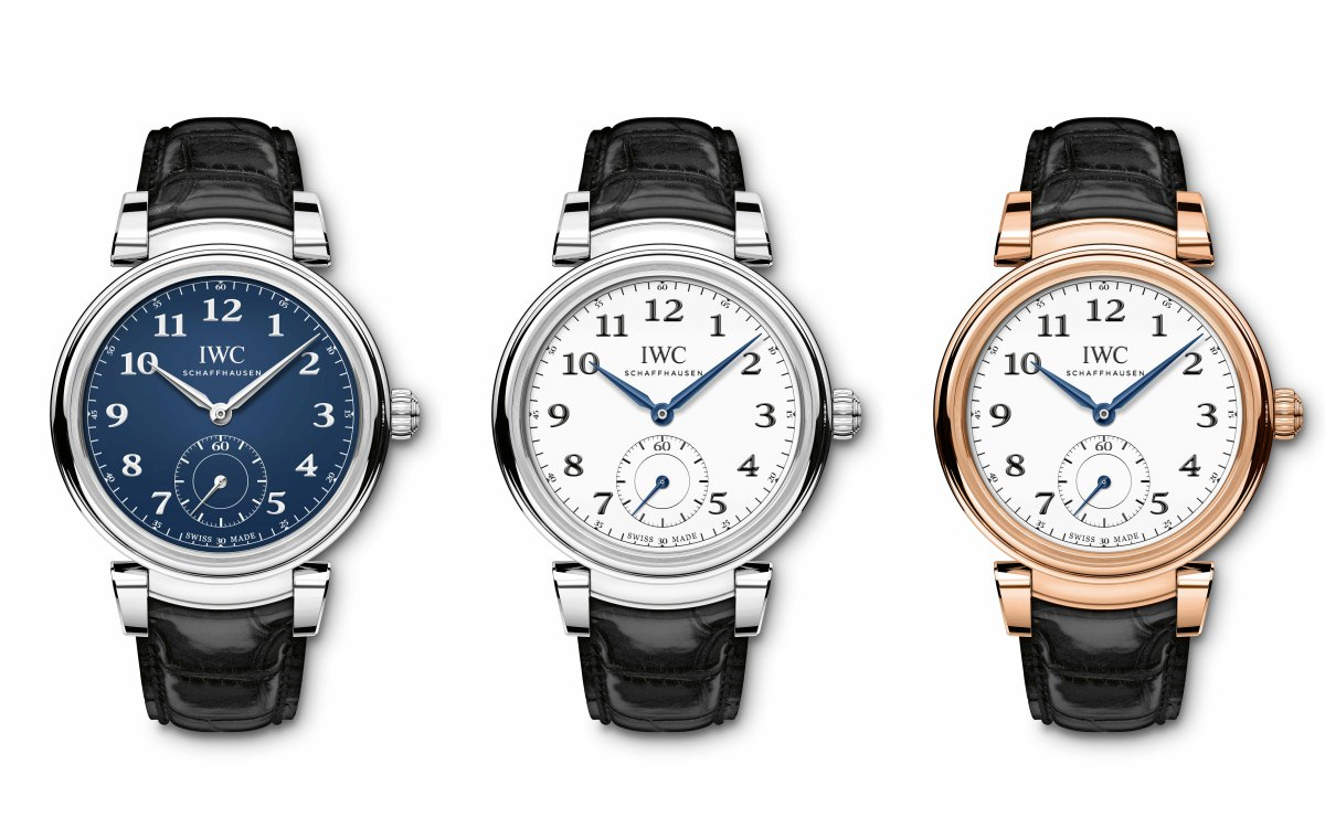 iwc jubilee collection da vinci automatic watch 2018 1 - IWC Schaffhausen 150周年庆纪念!