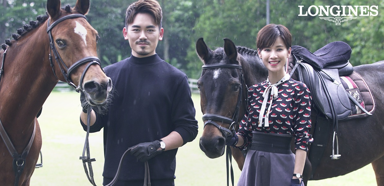 kingssleeve x longines valentine special feat aaron chin and jauary so - Longines 见证爱意如初,缔造永恒
