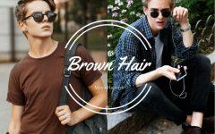 men hairstyle brown color BIG  240x150 - 经典棕系发色,气质与流行不退!