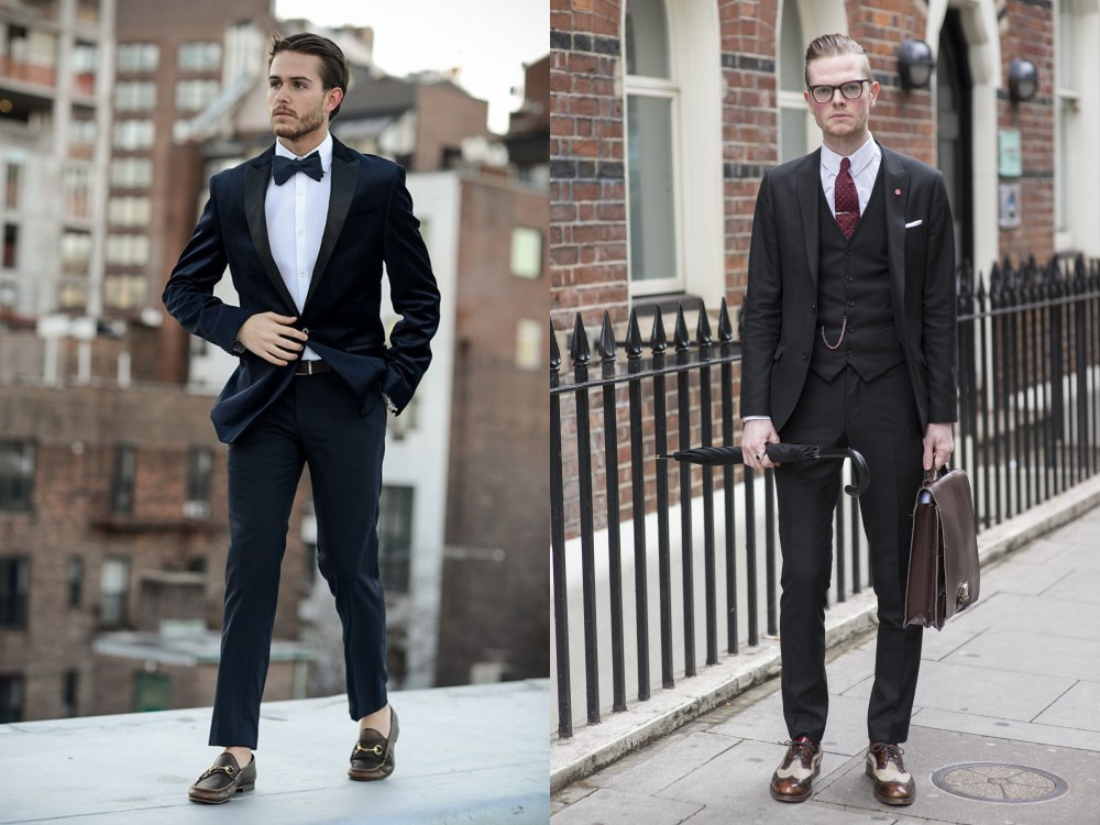 men suit fashion style 1 - 黑色西装之外,你也能轻松驾驭的简雅素色!