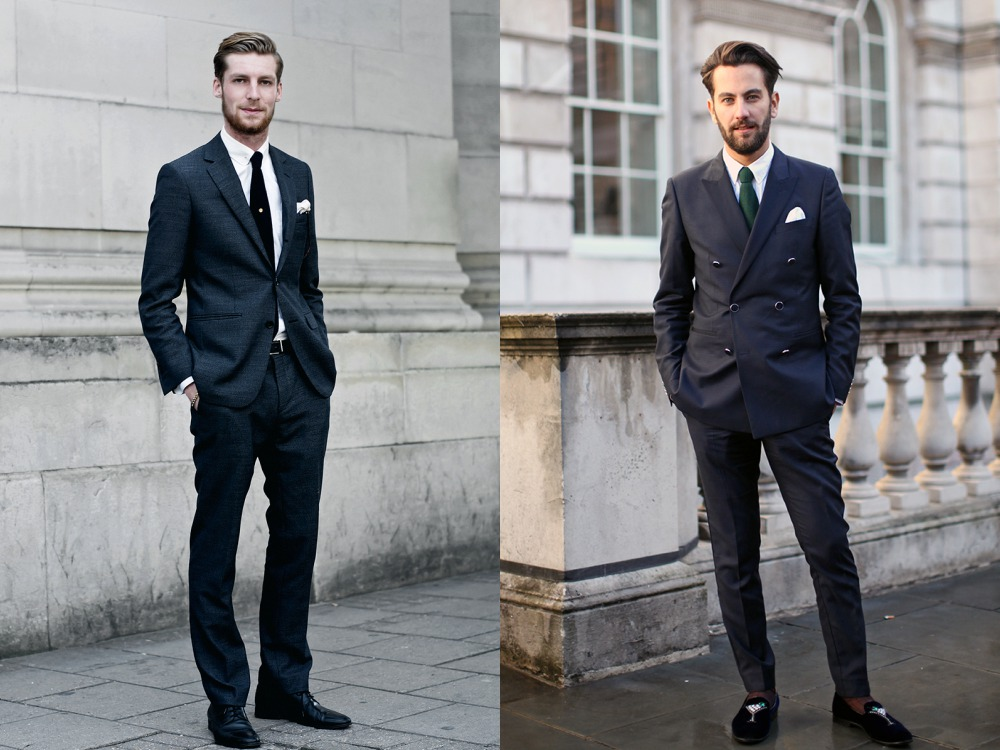 men suit fashion style 5 - 黑色西装之外,你也能轻松驾驭的简雅素色!