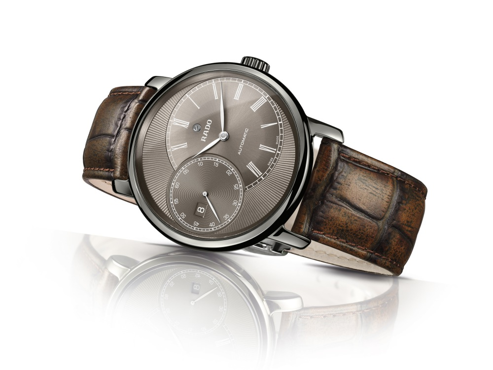 rado diamaster grand seconde brown - RADO DiaMaster 儒雅潇洒的绅士之表