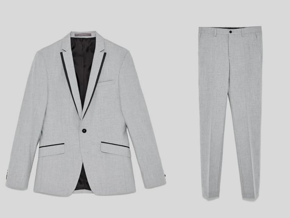zara fashion suit men style 3 - 黑色西装之外,你也能轻松驾驭的简雅素色!